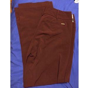 NWT Burgundy Bootcut Pants